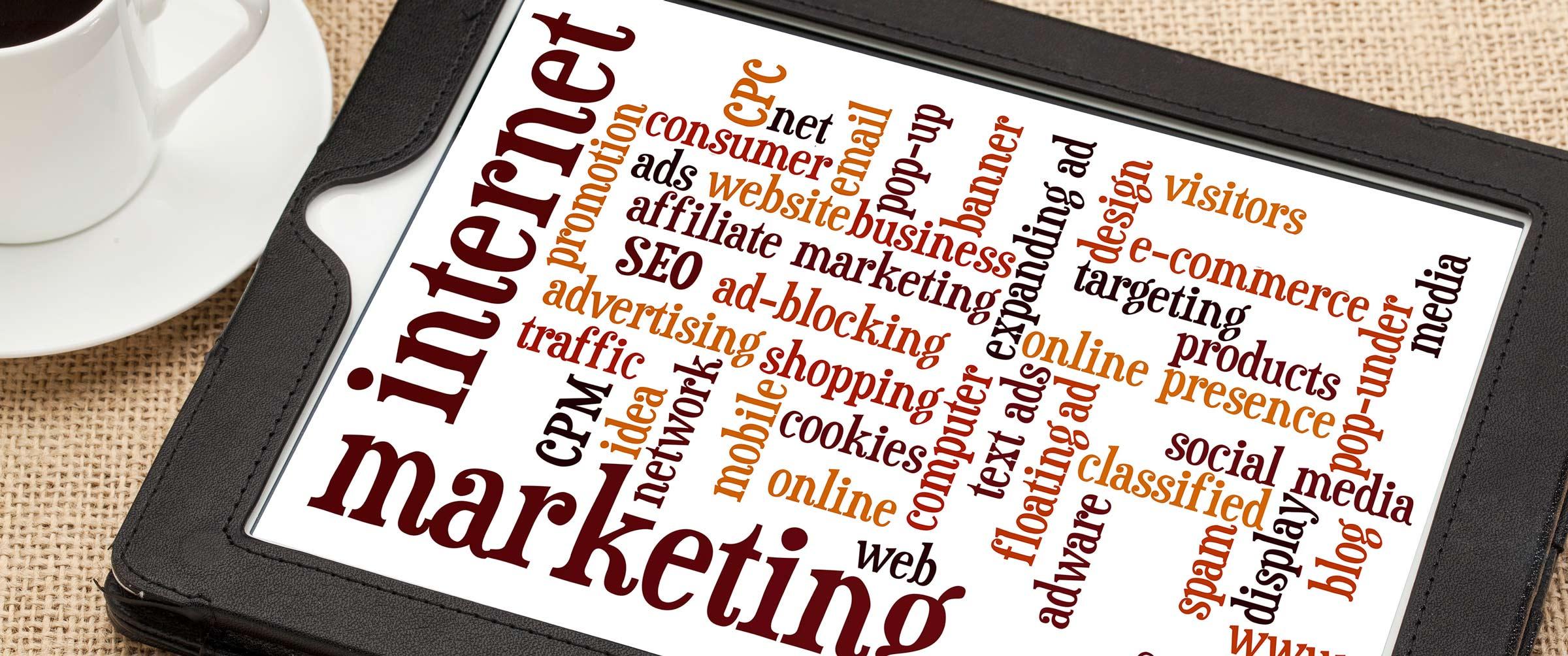 Internet Marketing Wordcloud
